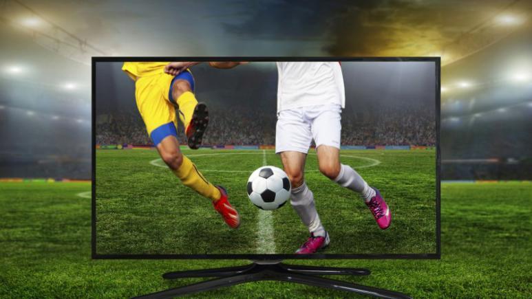 Fußball live im Fernsehen